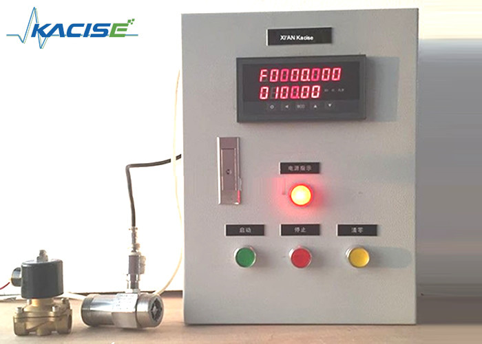 Kacise Diesel Fuel Flow Meter , Vegetable Oil Flow Meter With Batch Controller