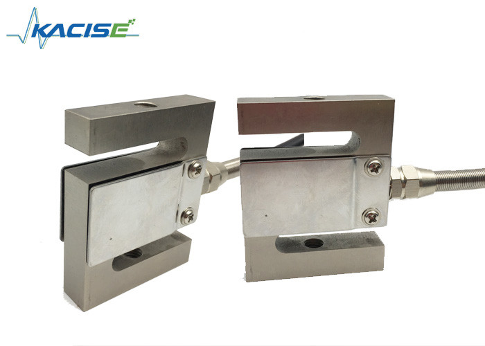 Industrial Aluminum Tension Load Cell / S - Type Load Cell For Weighing Machine