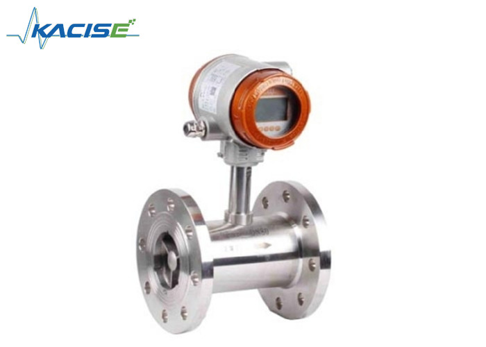 Stainless Steel Turbine Water Flow Meter Sanitary Flow Meter Flange Connection