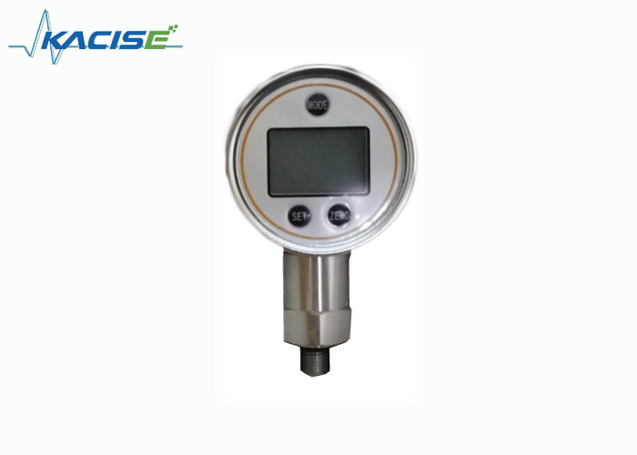 Stainless Steel Precision Digital Pressure Gauge Reverse Polarity Protection