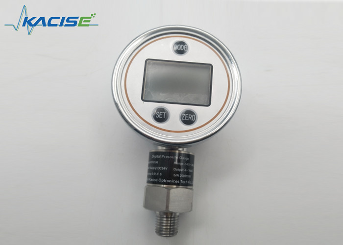 60mm LCD Display Precision Digital Pressure Gauge Water Oil Pressure Gauge